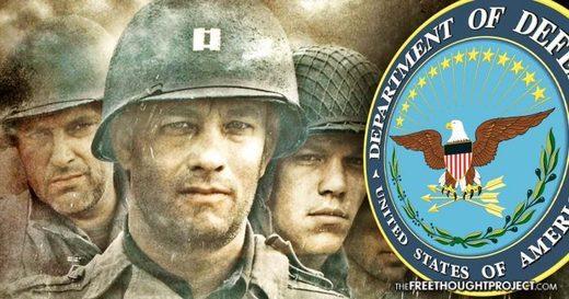Hollywood Pentagon Department of Defense Private Ryan