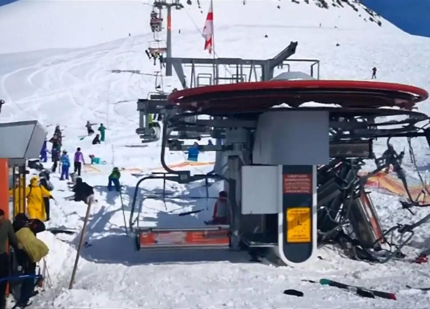 chair lift accident desk with wheels ski resort chairlift small house interior design