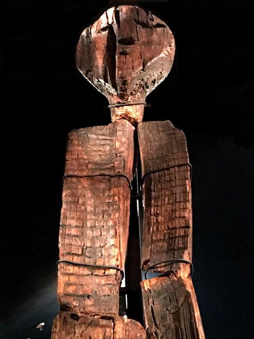 shigir idol head upper body
