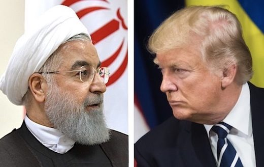Trump / rúhanie