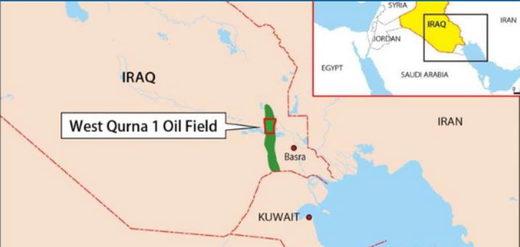 iraq qurna oil field iraq