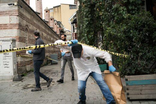 Le Mesurier's body was found in Istanbul