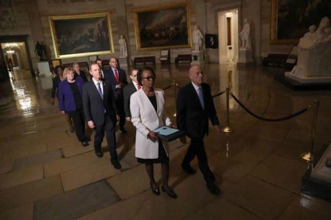 house impeachment articles senate parade