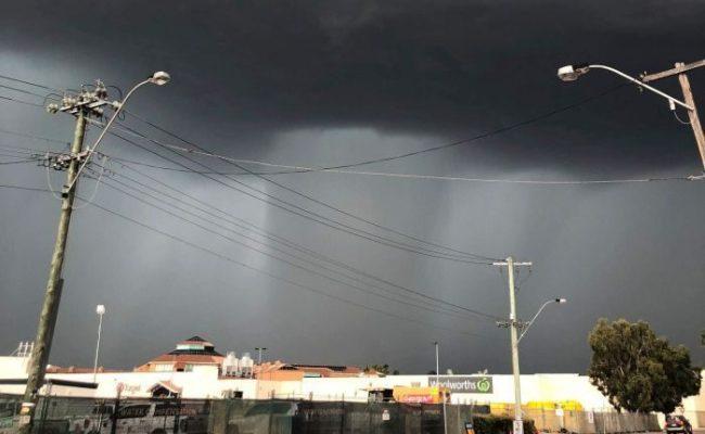 Severe Thunderstorm Creates Havoc In Perth Australia