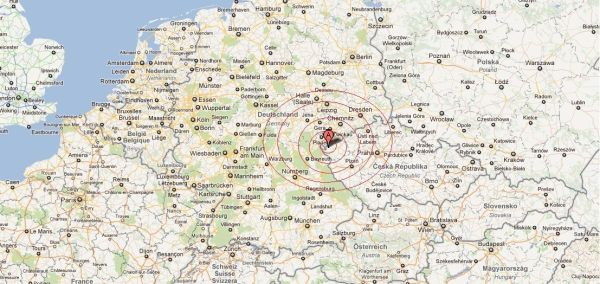 10000 Earth Tremors Recorded On GermanCzech Border