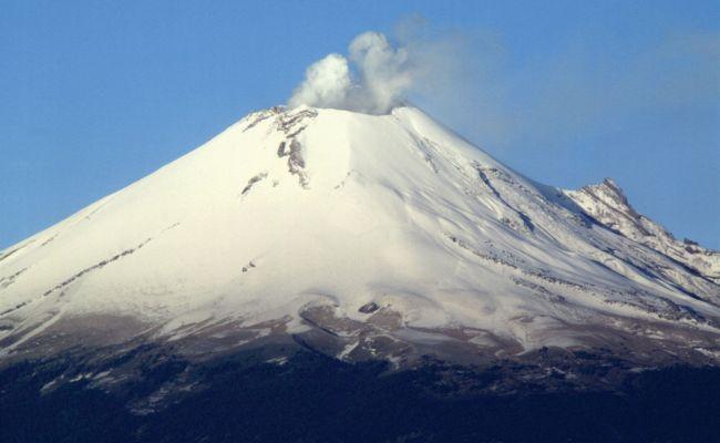 Mexico S Popocatépetl Volcano Unleashes 9 Low Level