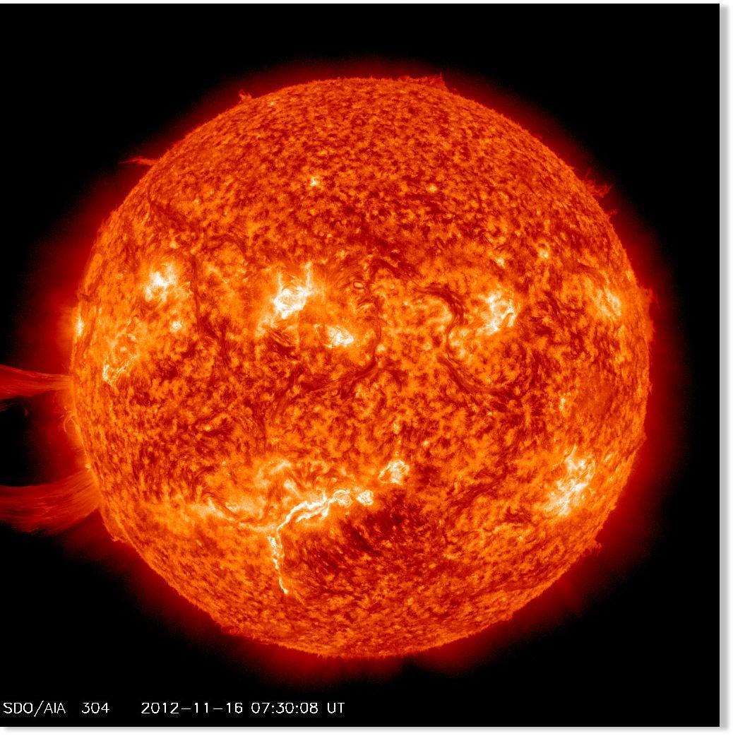 Giant Sun Eruption Captured In Nasa Video Science