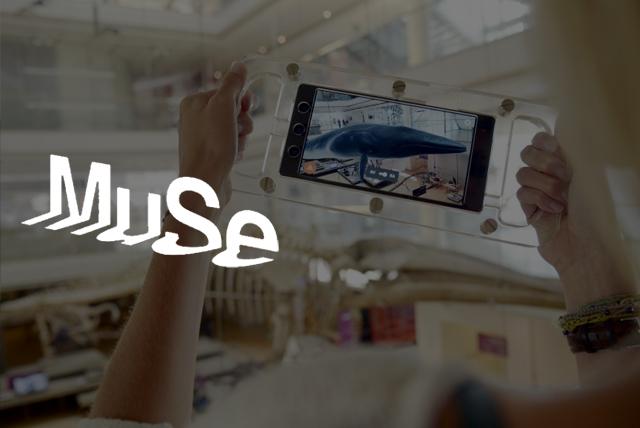 Immagine e logo di Go MUSE app per visitare museo di Trento