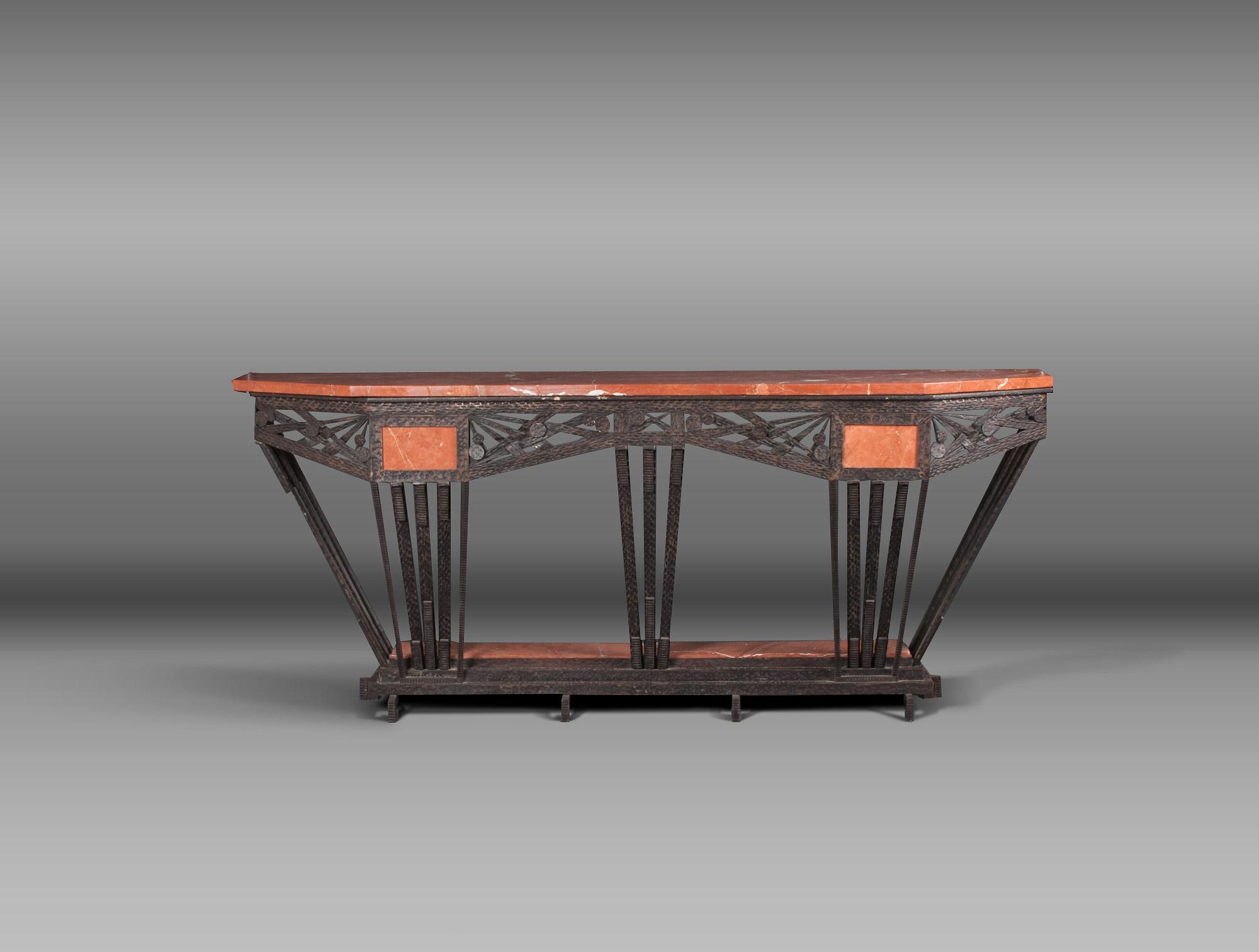 rent tables desk console table art deco