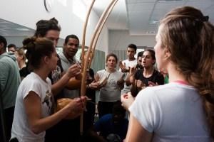 Stage de Capoeira organisé par Prof. Pe de moleque