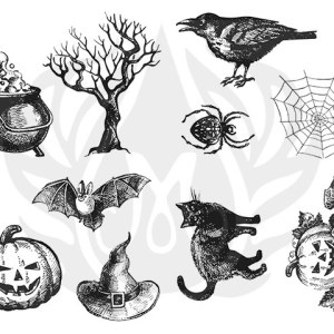 Tela para Silk Screen – Halloween