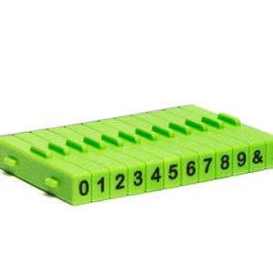 Kit de Carimbos Numeros (12 peças)