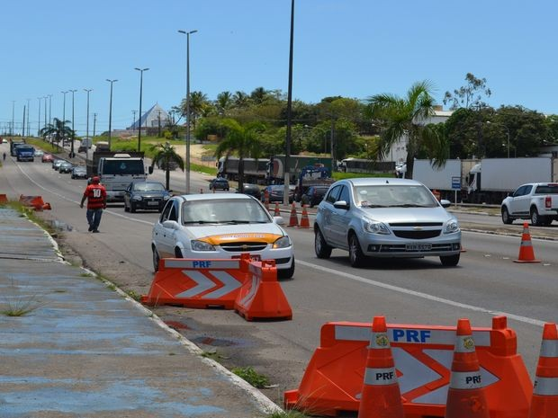 PRF em Sergipe (Foto: Marina Fontenele/G1)