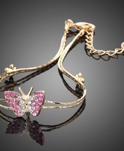 Gold Plated Austrian Crystal Bracelet