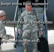 SMA Kenneth O. Preston (Retired) image abused by Scammerstired)