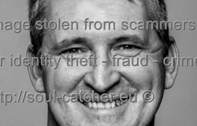 Actor / Model Darrell Plumridge image abused by Scammers