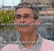 Film Critic Charles Tesson image abused by Scammers