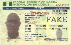 Mohammed Auwal Drivers Licence-1