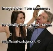 Model Larry Harris image abused by Scammers