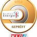WKO Siegel in Gold für Humanenergetiker