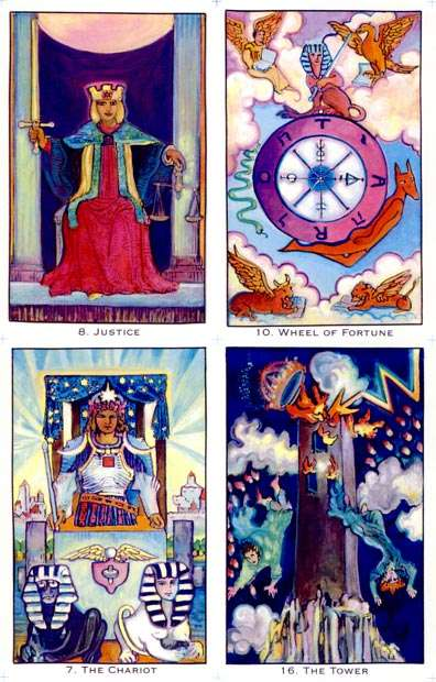 The Original Illuminated Tarot All Pictures In Large Size