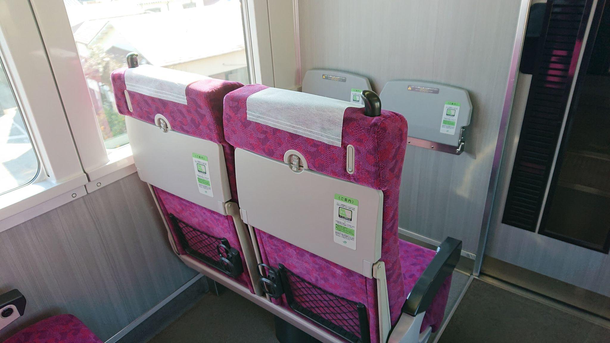 JR東日本東海道線や湘南新宿ライン、上野東京ラインの普通列車グリーン席の通常階のシート