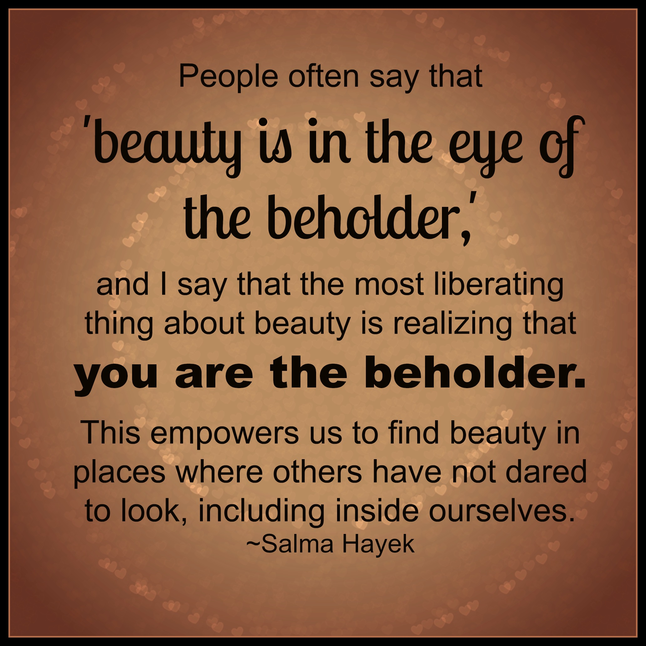 Beholder Quote Beauty Eye