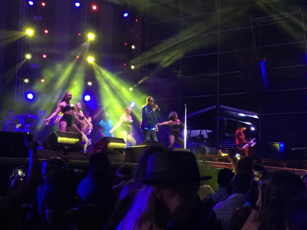 Charlie Wilson at the Soul Beach Music Festival in Aruba