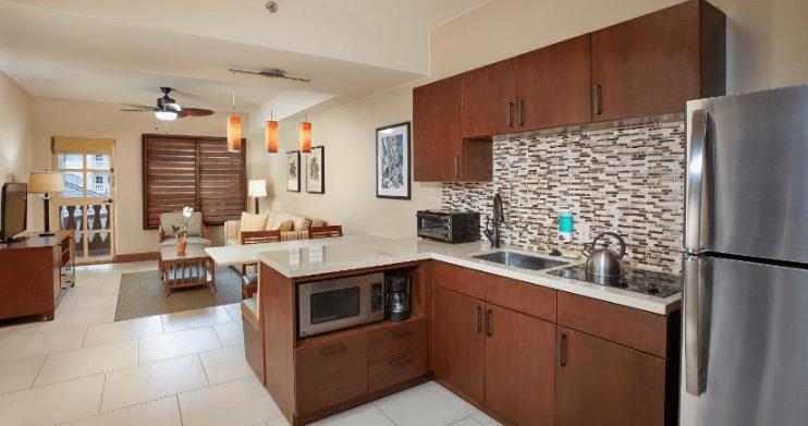 Eagle Aruba Resort new stainless steel kitchen