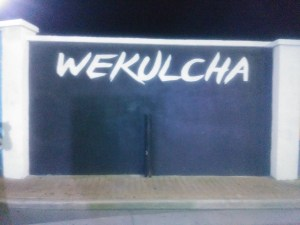 Wekulcha mural in Sint Nicolas