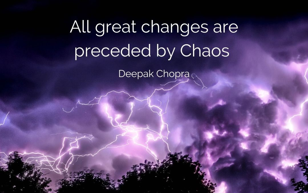 THERE IS ORDER IN CHAOS