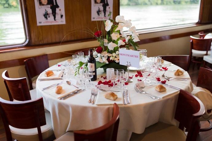 mariage croisiere peniche quai 55 paris decoration theme - Peniche Mariage Paris