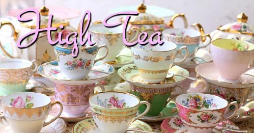 elegant high tea fundraiser