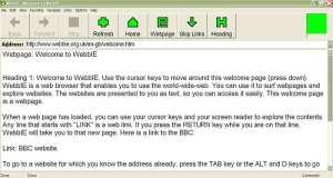 webbIE screenshot
