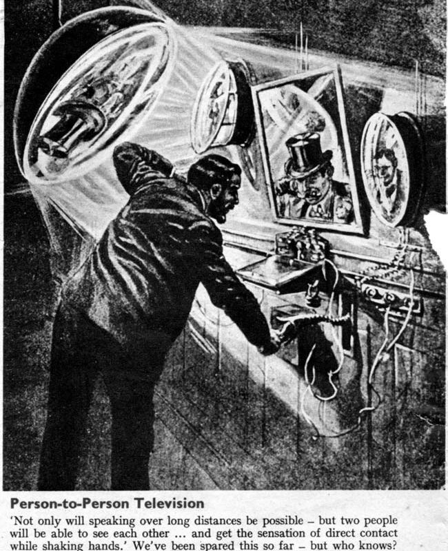 video phone idea from 1903