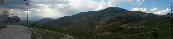 View from the road to Kokkinopilos
