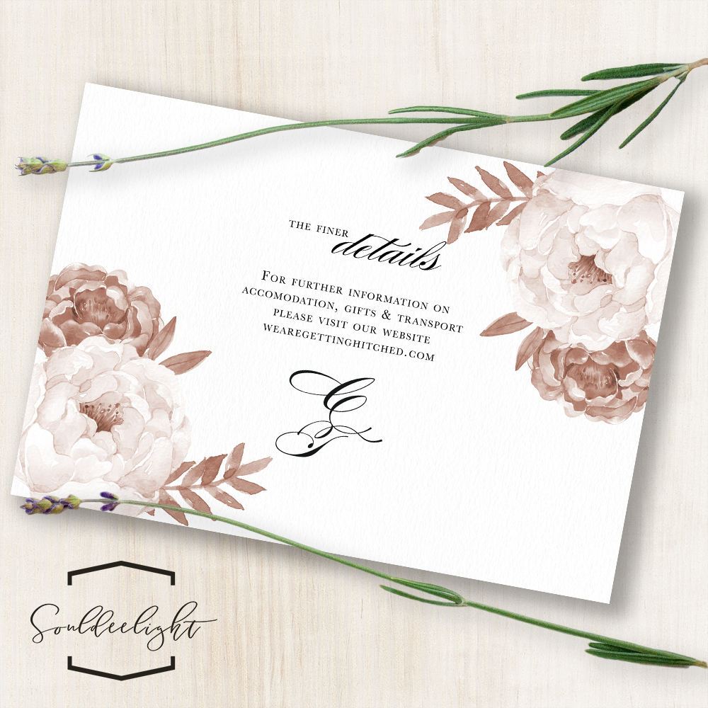 Wedding Invitations Details: Reception Wedding Invitation Cards