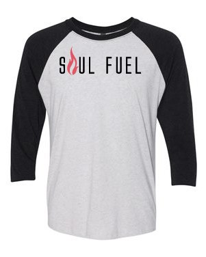 Soul Fuel Baseball Raglan Black Red