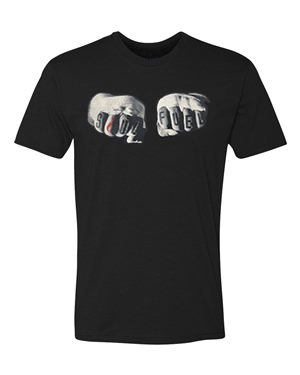 Fists of Fury Graphic T-shirt Black
