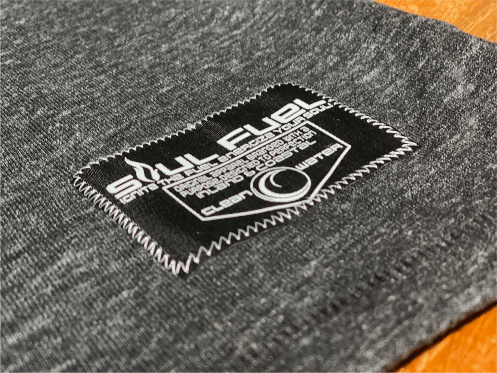 Soul Fuel Clean Water 10% Woven Tag
