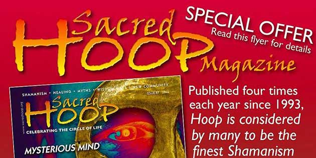 25% Off Special Offer on Sacred Hoop Magazine Subscription!