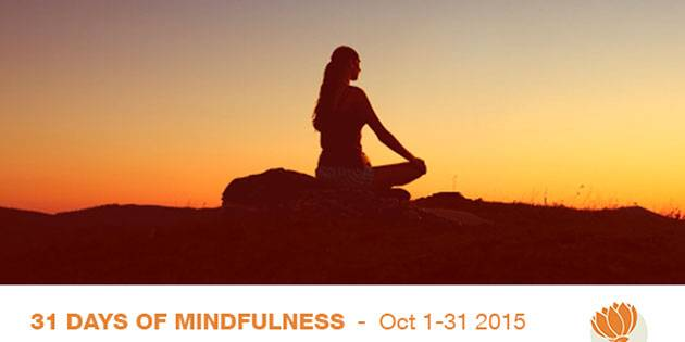 The Mindfulness Summit – a free online event, October 1 – 31, 2015