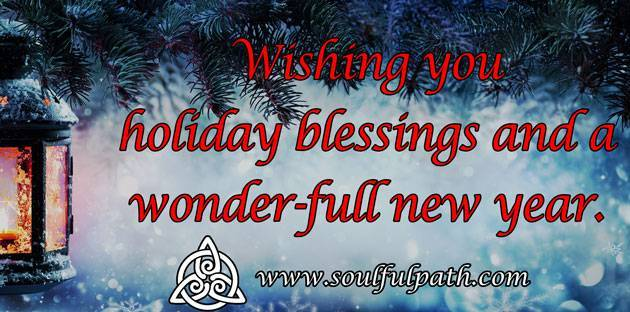 Holiday Blessings!