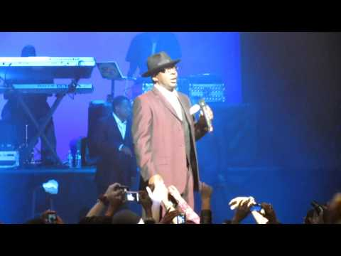 Bobby Brown Talks to Fans – NJPAC Newark, NJ on February 19, 2012