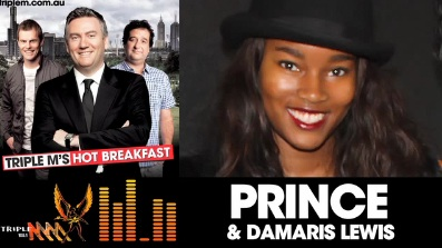 Damaris interview with Prince