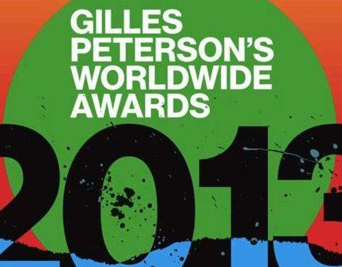 Gilles Peterson 2013 Worldwide Awards