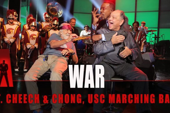 WAR Performs Arsenio Hall Show With Cheech and Chong