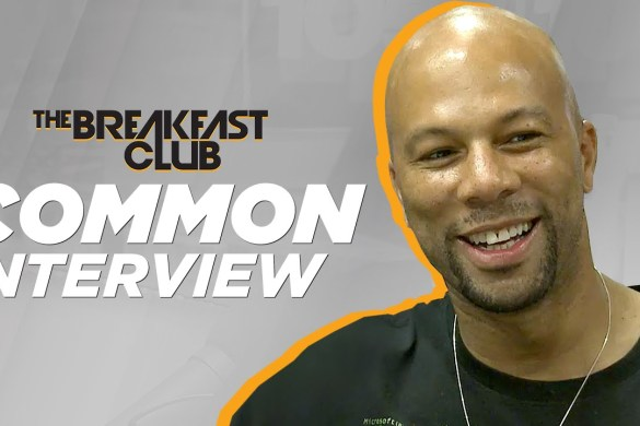 Common Talks Anti-Violence, Music with The Breakfast Club [FULL VIDEO] @breakfastclubam @common