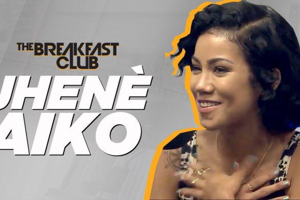 Jhene Aiko Makes First Appearance On The Breakfast Club FULL VIDEO Breakfastclubam