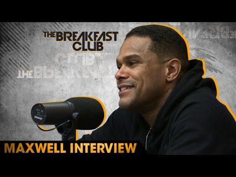 Maxwell on The Breakfast Club